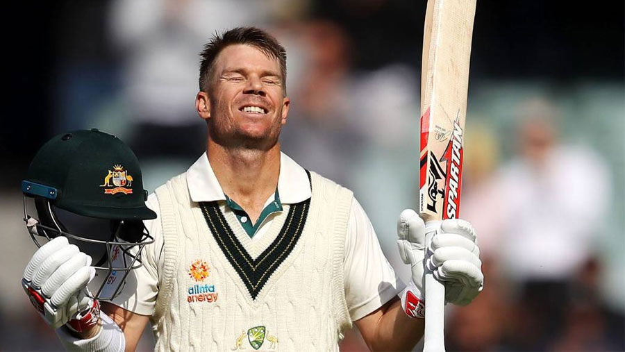 Warner notches unbeaten Test triple century