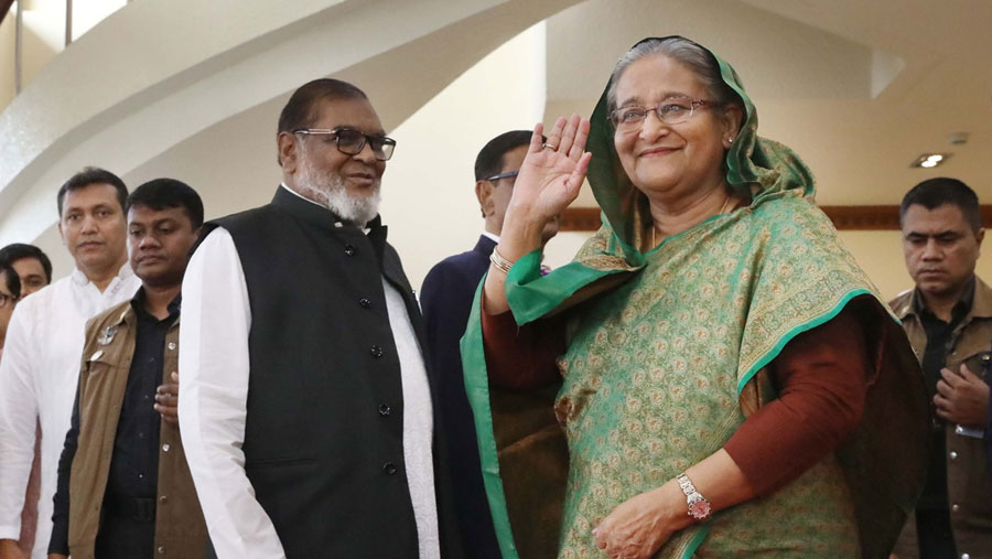 PM Sheikh Hasina leaves for Madrid to join COP25