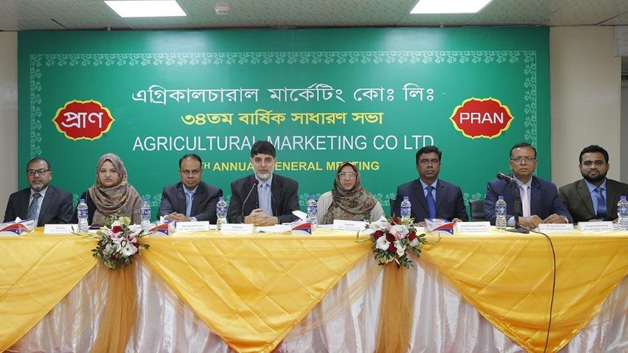AMCL (PRAN) approves 32% dividend