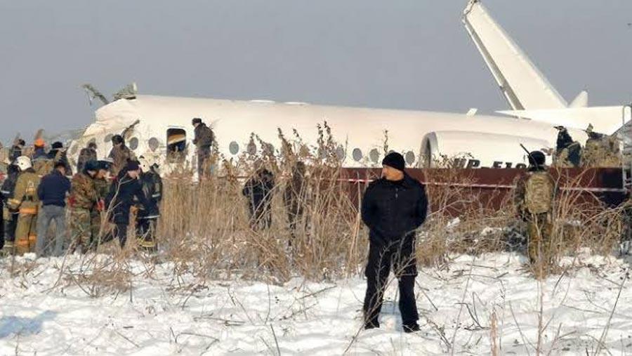 Fifteen die as plane crashes in Kazakhstan
