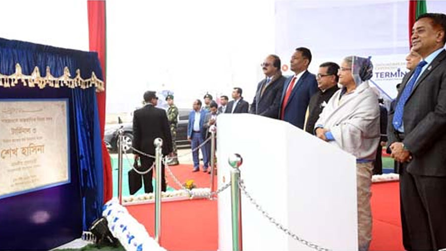 PM opens HSIA's third terminal project work