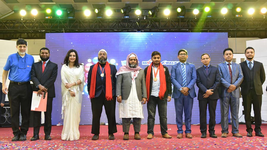 Walkar footwear, Tel Plastic and Rainbow paints hold dealer conference