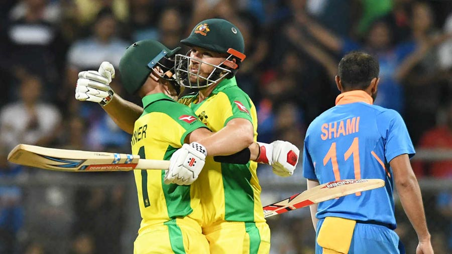 Australia beat India by 10 wickets in first ODI