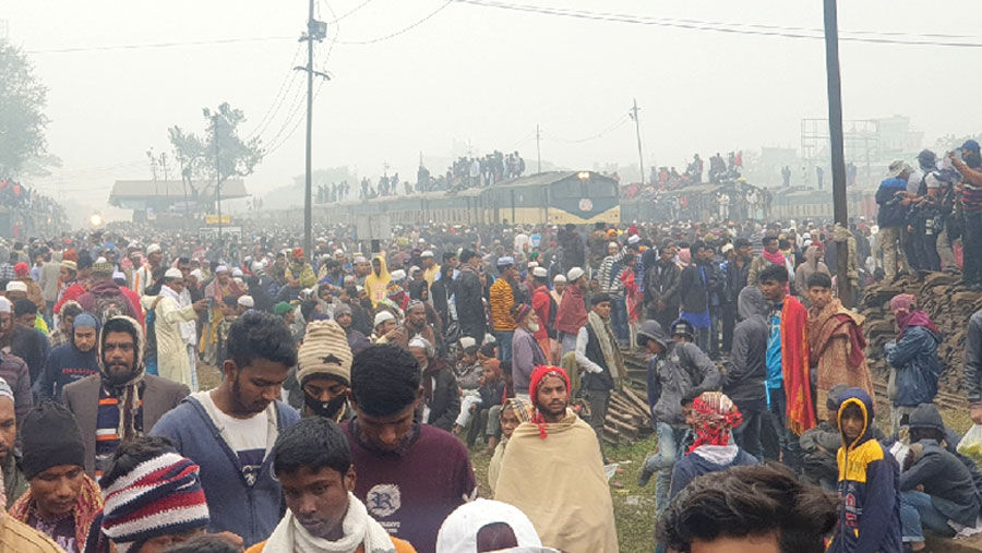 Second phase of Biswa Ijtema begins