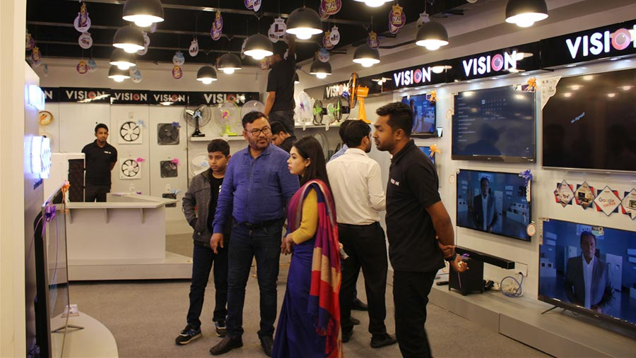 Vision Electronics offers up to 20 percent discount at DITF