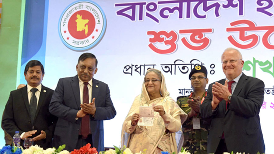 E-passport is a 'Mujib Barsho' gift for the nation: PM