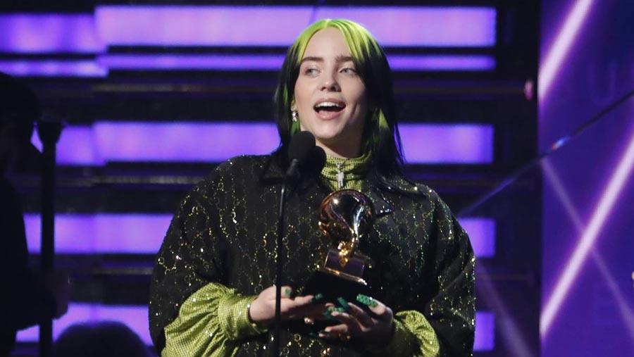 Billie Eilish is the big winner at the Grammys