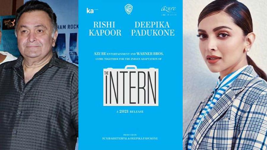 Deepika announces next project The Intern