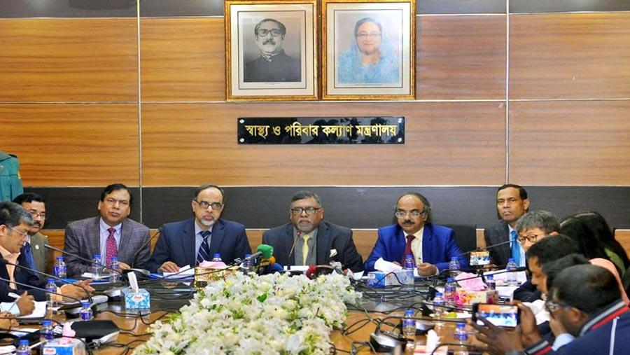 No coronavirus case in Bangladesh: Health Minister