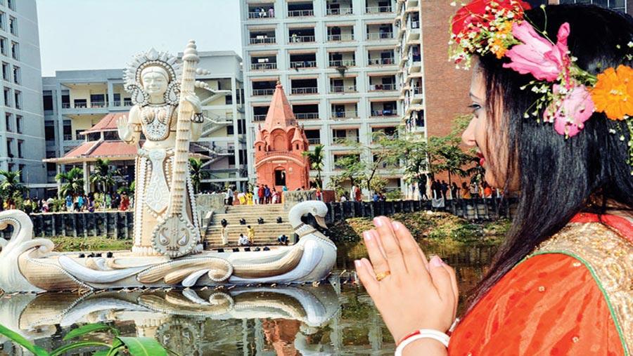 Saraswati Puja celebrated across country