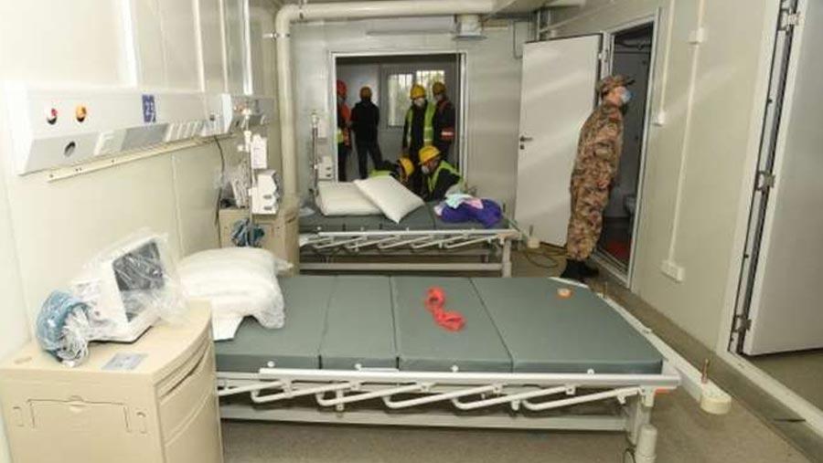 Coronavirus: China set to open speed-built hospital