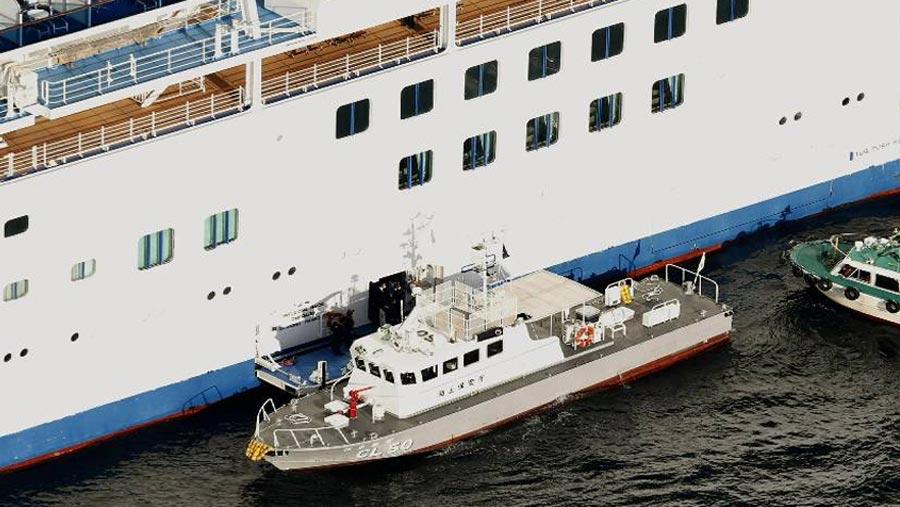 Coronavirus outbreak hits cruise ship off Japan