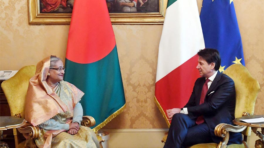 Dhaka, Rome agree to bolster cooperation