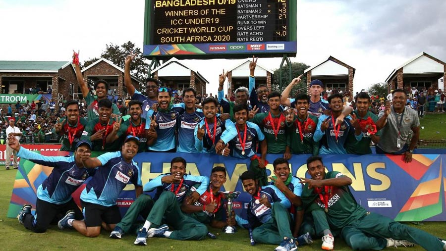 Bangladesh clinch ICC U19 World Cup title