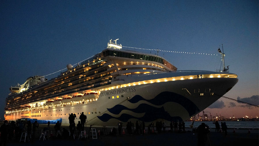 Japan cruise ship coronavirus cases climb to 174