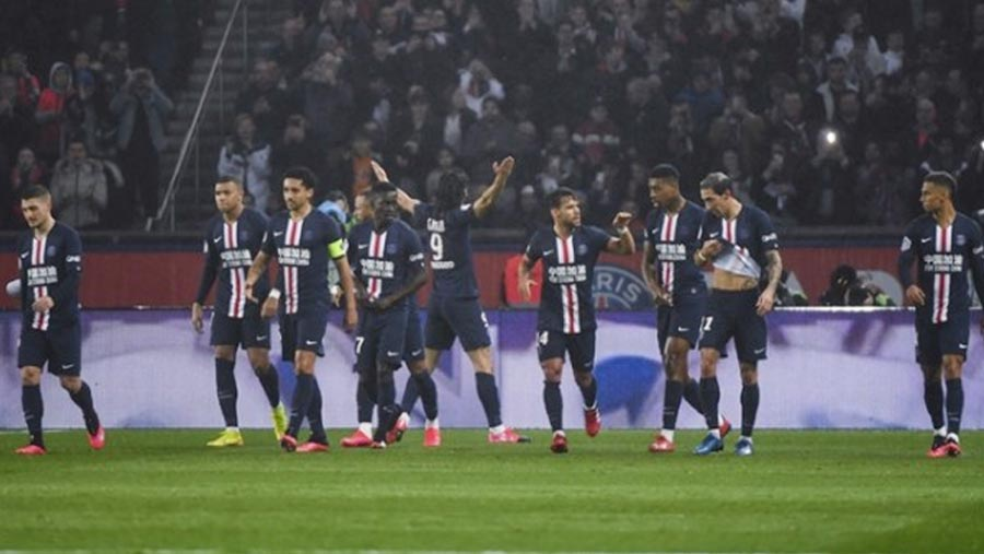 PSG extend lead in League 1 to 13 points