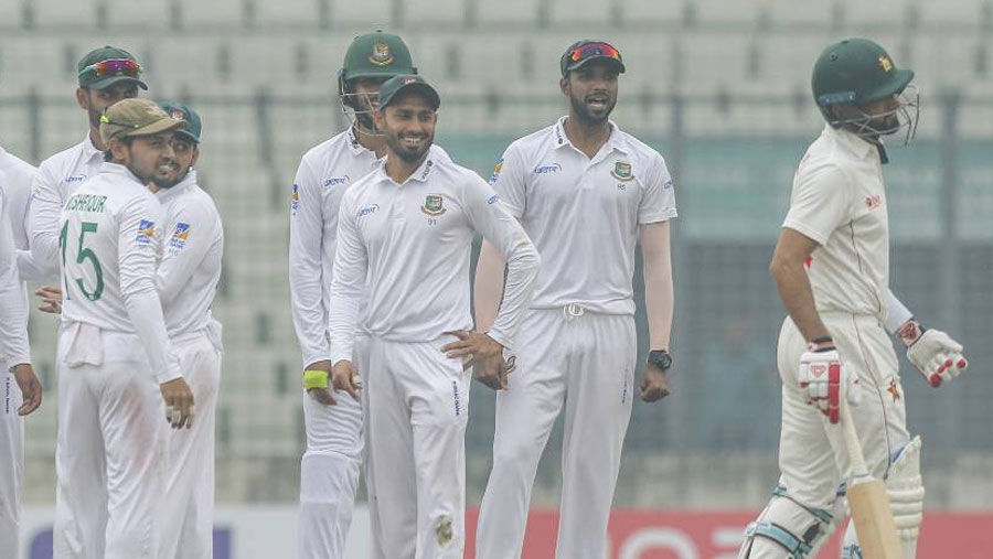 Tigers end Test drought with comfortable win over Zimbabwe