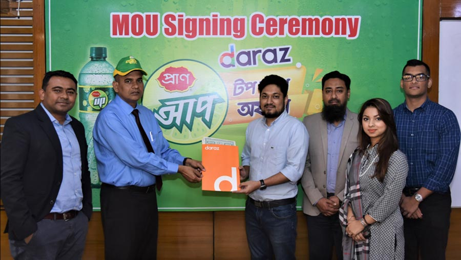 PRAN UP and Daraz to launch recharge offer