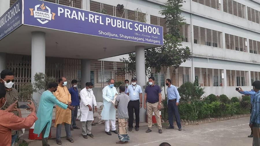 PRAN-RFL Group stands by the poor people