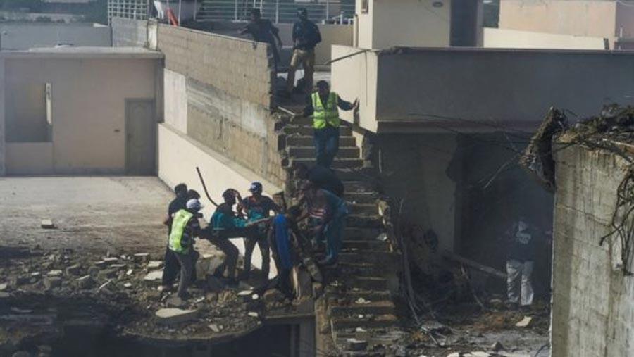 Pakistan passenger plane crashes in Karachi
