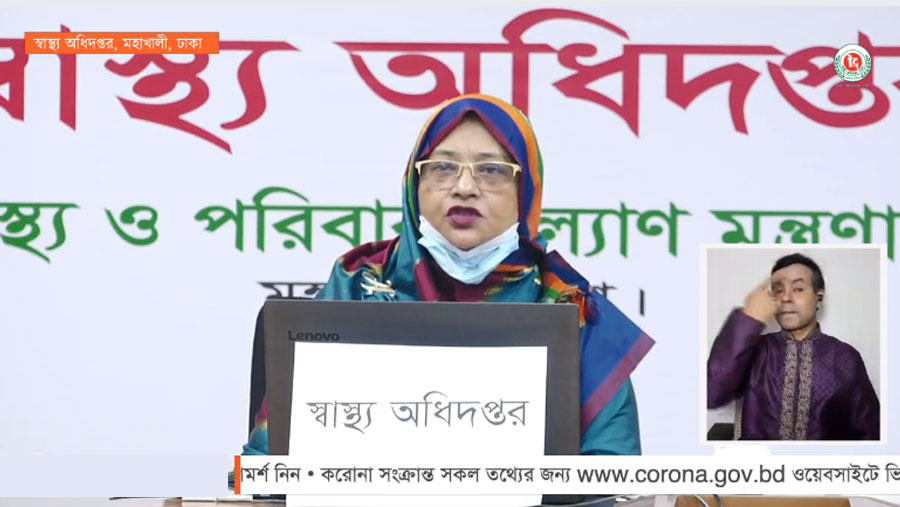 Bangladesh reports 21 more Covid-19 deaths, 1166 fresh cases