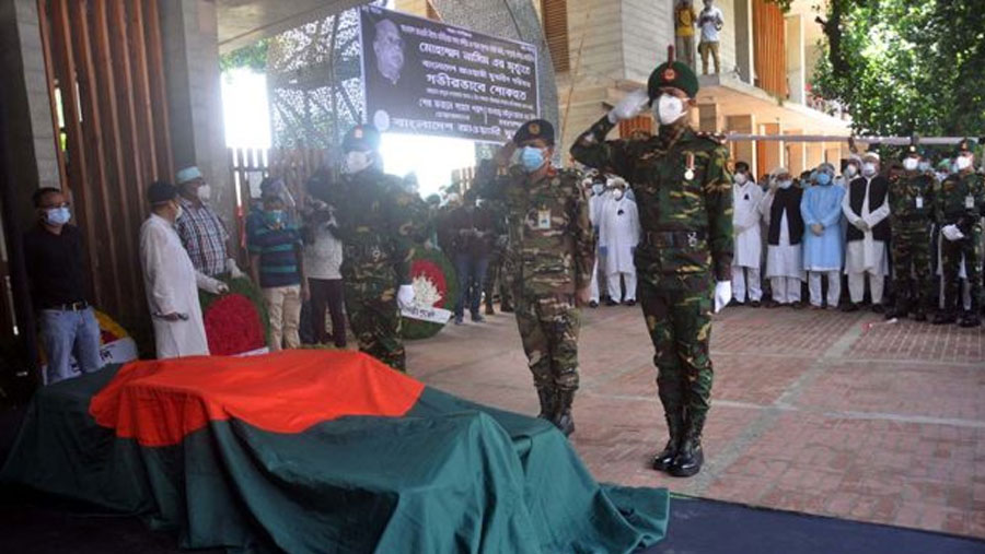 Nasim laid to rest at Banani graveyard
