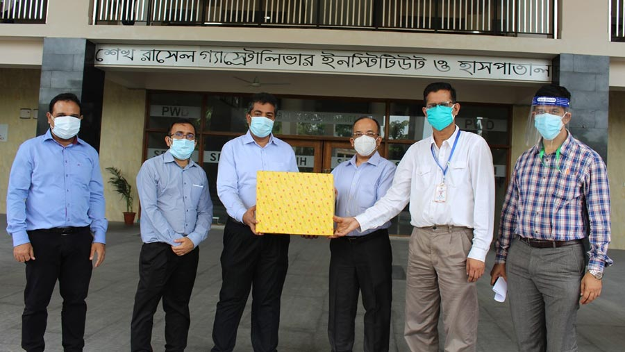 PRAN-RFL donates protective equipment to three Covid-19 hospitals