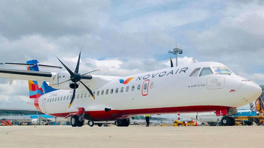 NOVOAIR operate special flight from Sylhet