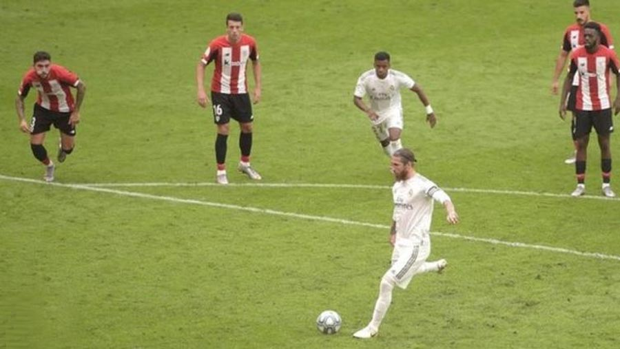 Madrid near title with 1-0 victory over Bilbao