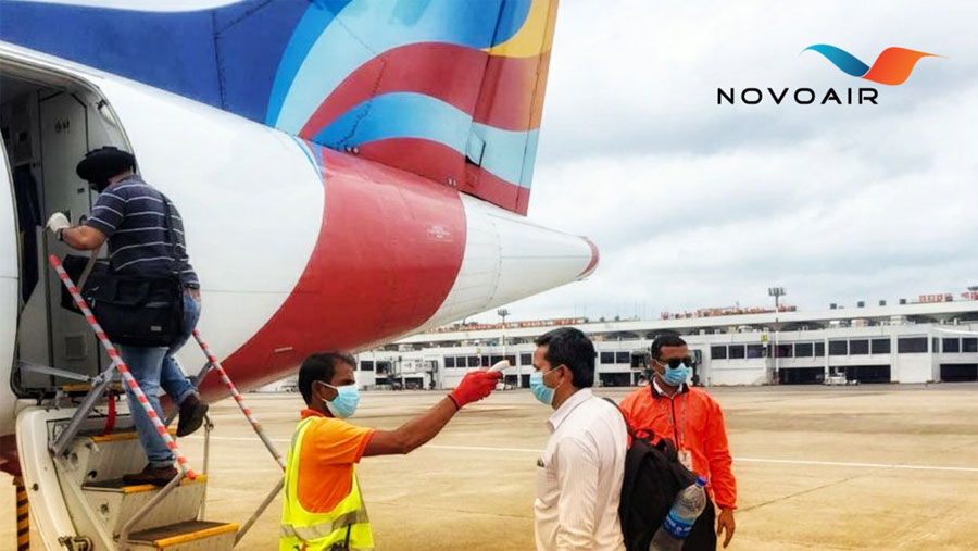 16 Indian fly Guwahati by NOVOAIR