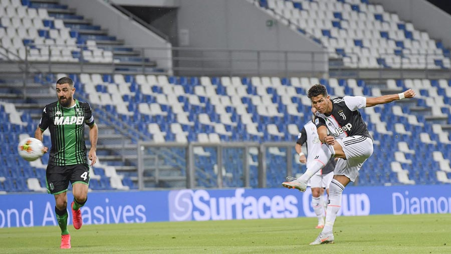 Juve extend lead despite draw at Sassuolo