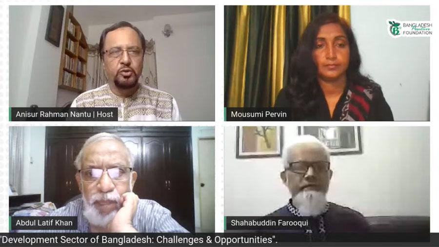 B Positive Talks discuss Bangladesh Development Sector