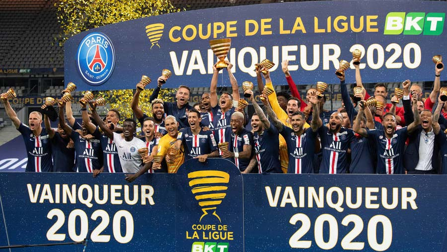 PSG edge out Lyon in French League Cup final