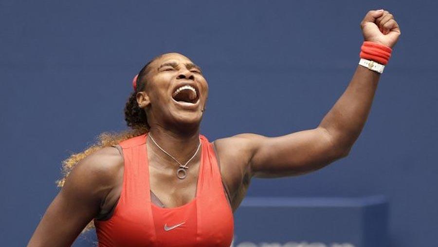 Serena overcomes Pironkova to reach semi-finals
