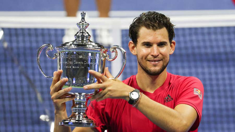 Dominic Thiem earns first major title