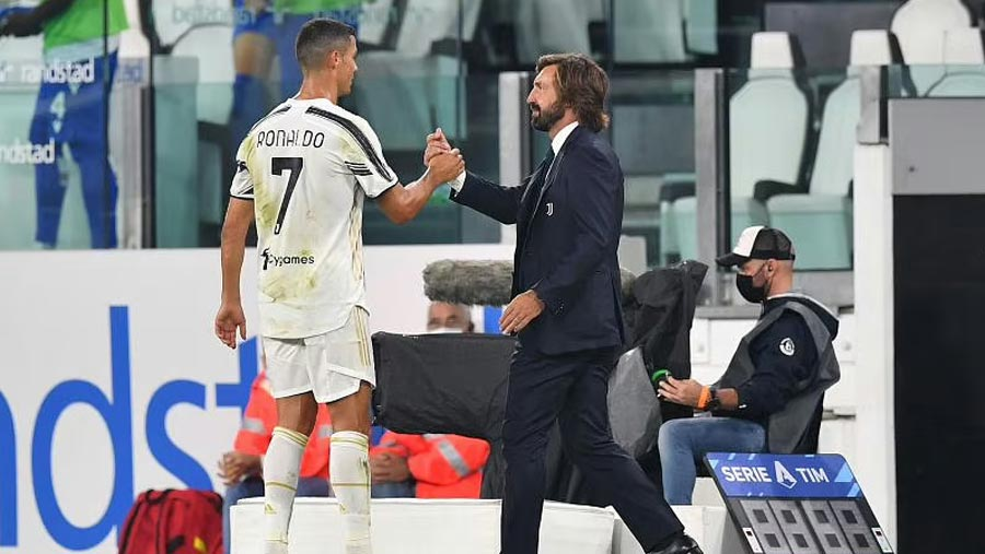 CR7 helps Pirlo start with win as Juventus boss