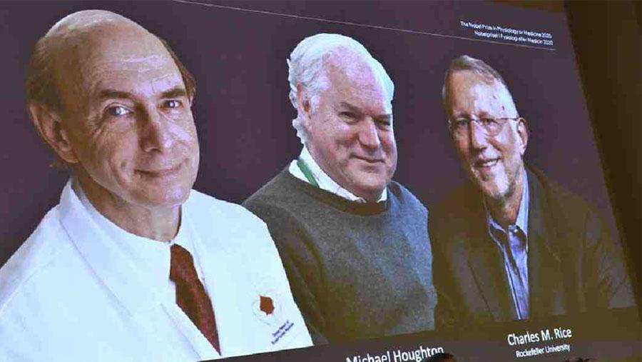 Three scientists awarded Nobel Prize in Medicine