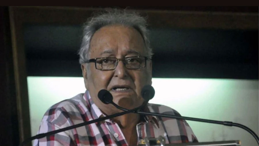Actor Soumitra Chattopadhyay tests positive for Covid