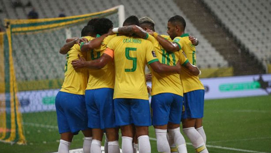 Brazil kicks off WC qualifiers with 5-0 victory