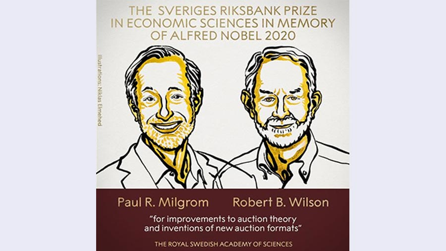 Two Americans win Nobel prize in economics for auction theory
