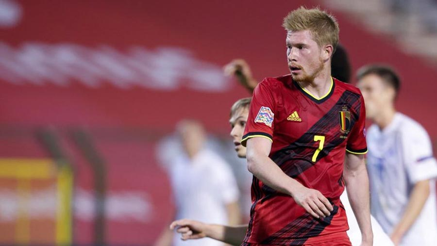 Kevin De Bruyne out of Belgium squad