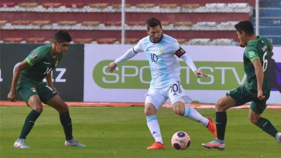 Argentina beat Bolivia 2-1