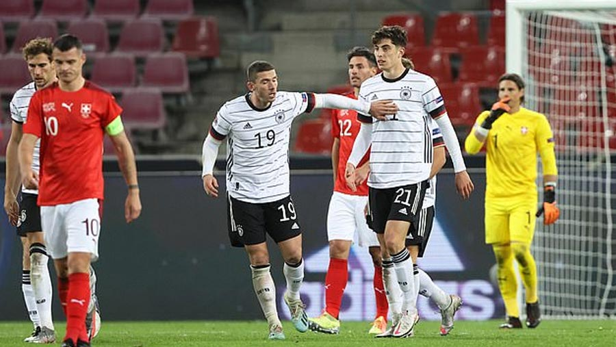 Havertz and Werner shine as Germany draw
