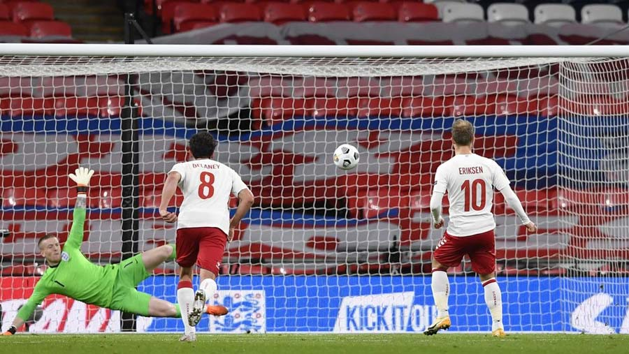 England lose to Denmark in Nations League