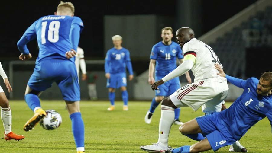 Lukaku scores two as Belgium wins 2-1 in Iceland