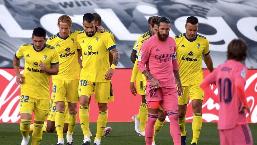 Newly promoted Cadiz shock Real Madrid