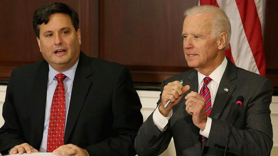 Biden names top aide as White House chief of staff