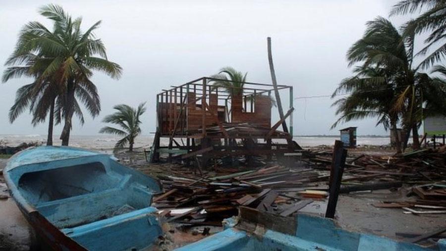Most powerful Atlantic hurricane of 2020 hits land