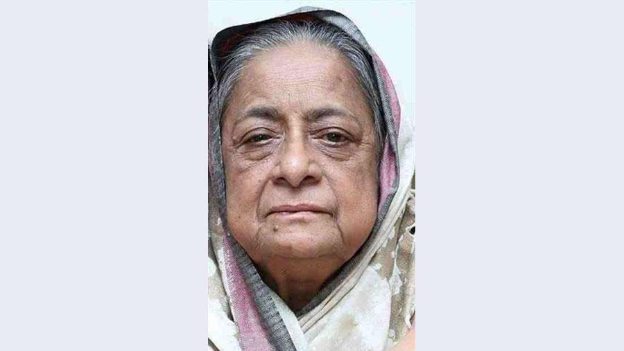 Sheikh Helal's mother Razia Naser no more
