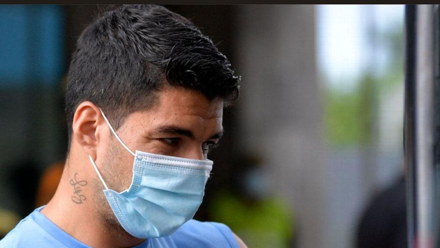 Suarez to miss Brazil match after positive Covid test